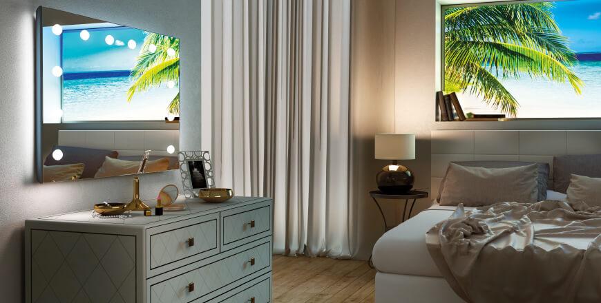 Miroir lumineux Cantoni