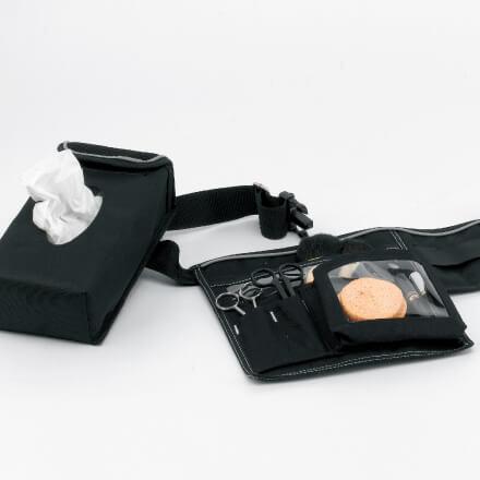 Ceinture porte-pinceaux pour artiste make-up