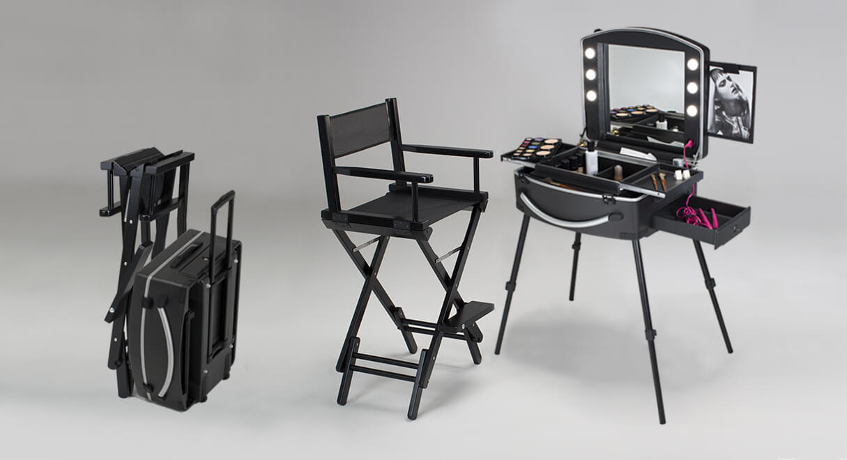 valise de maquillage professionnelle. Black Bedroom Furniture Sets. Home Design Ideas