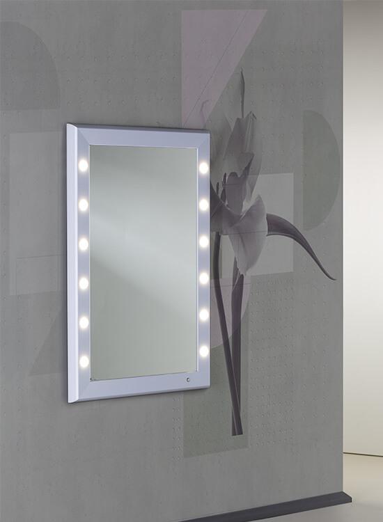 Miroir lumineux pour coiffeuse et maquillage for Miroir pour coiffeuse