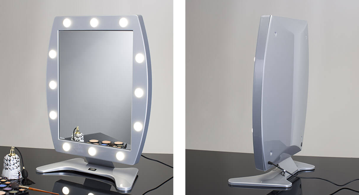Miroirs maquillage lumineux da table