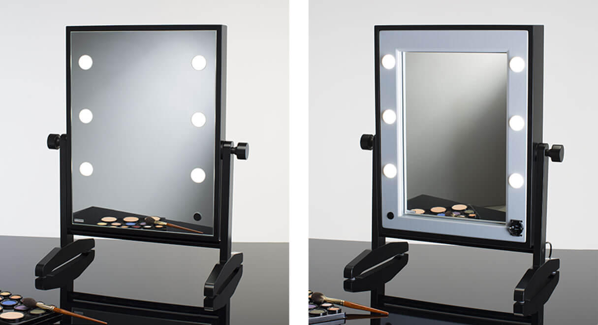 Miroirs de maquillage lumineux da table