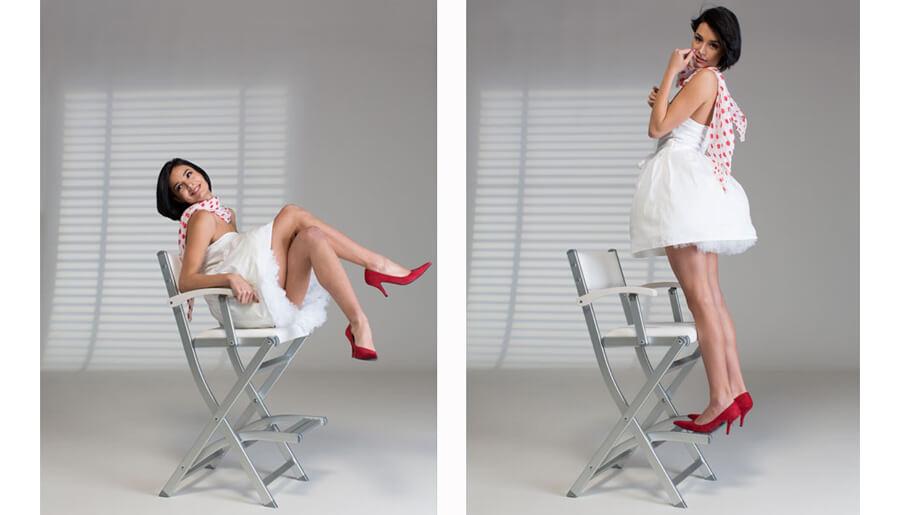 Fateuil maquillage antireversement cantoni for Chaise qui ne prend pas de place