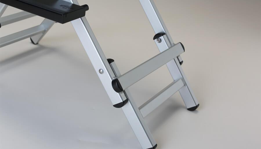 Système à double hauteur pour chaise maquillage
