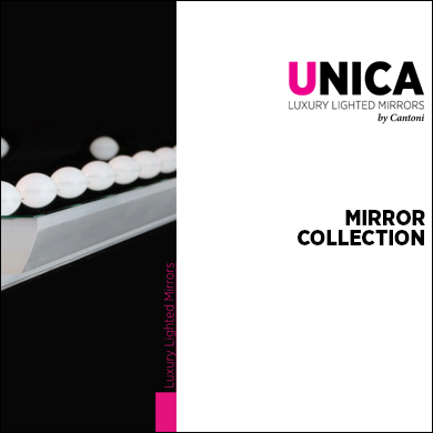 Unica Miroirs de luxe éclairé - Collections_2017